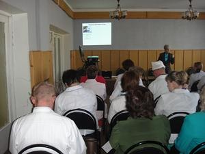 Презентация в детской больнице Великие Луки