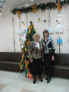 Альбина Коровина и Наталия Костина в Фонде поддержки малого предпринимательства
