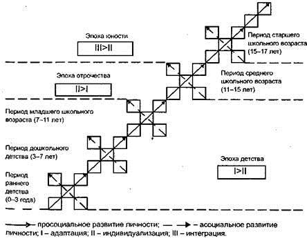 Возрастная  периодизация  развития  личности по А.В. Петровскому